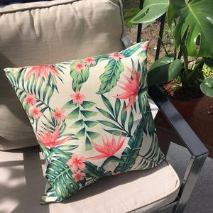 Cushion covers (indoors and outdoors)